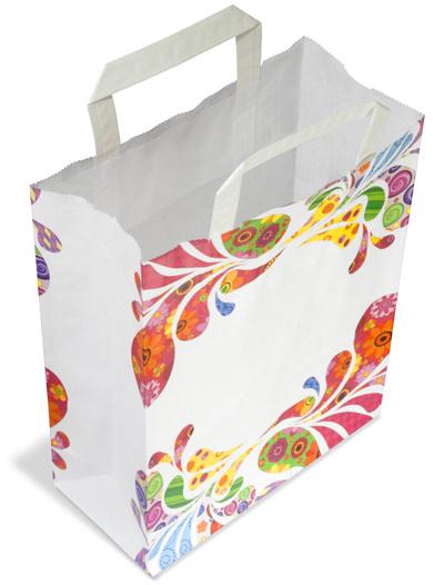 1d5bfff38 Bolsas de papel con asa, impresos con diseño: Tria & Remena